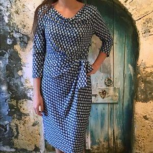 Ann Taylor Faux Wrap Around Dress S NWT